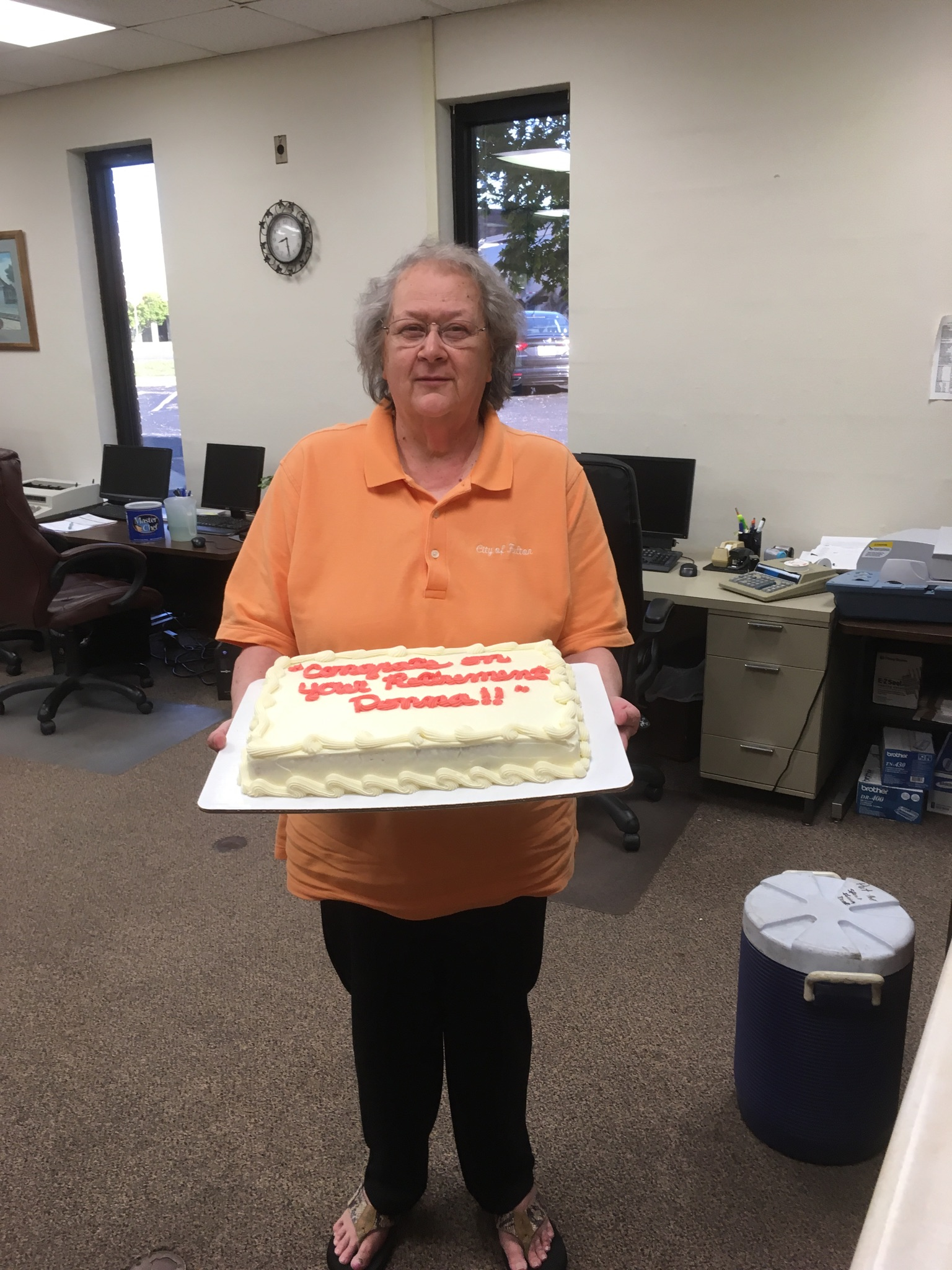 Donna Watts Retiring